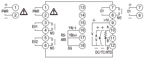 4 best images of dc light wiring diagram john kt4r temperature controller    wiring    connection  kt4r temperature controller    wiring    connection
