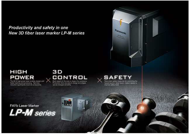 HIGH POWER, 3D-CONTROL, SAFETY LP-M SERIES