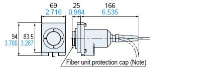 Fiber unit (when removed)