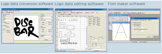 Laser Marker NAVI included softwares