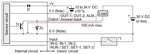 metal sheet double feed detector gd i o circuit and wiring diagrams rh 3 panasonic biz Light
