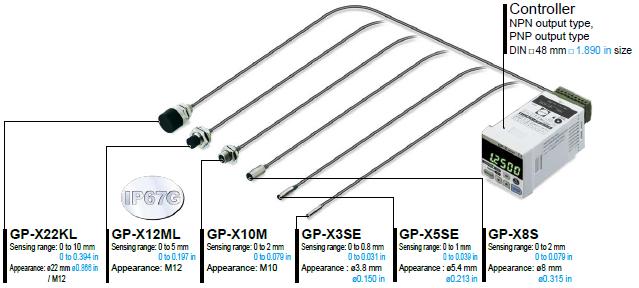IP67g sensör kafası varyasyonu