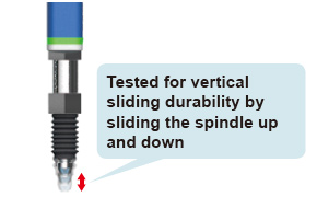 The slim unit body contains plain bearings with 2-point support structure disperses load and achieves superb durability. The sensor head offers long life and reduces maintenance costs dramatically.