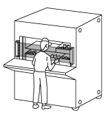 Verifying picking of parts from shelf