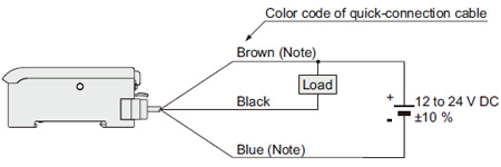 Digital Fiber Sensor FX-300 I/O Circuit and Wiring diagrams ... on
