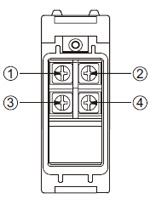 EQ-501 (T) EQ-502 (T) Terminal düzenleme şeması
