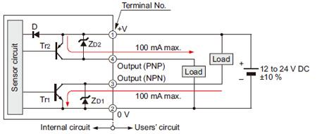 EQ-511 (T) EQ-512 (T) I / O devre şeması
