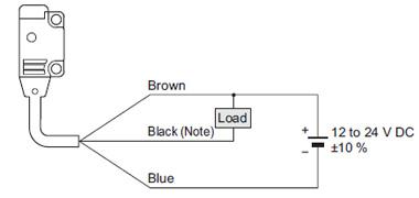 Ultra-slim Photoelectric Sensor EX-10 Ver.2 I/O Circuit and Wiring ...