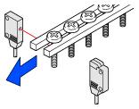 Minimum sensing object: ø1 mm ø0.039 in [EX-11(E)□, EX-15(E)□]