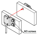 Mountable with M3 screws