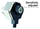 Incorporates a sensitivity adjuster (Excluding EX-31□)
