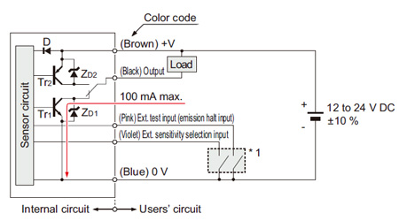 Wafer Mapping Sensor M Dw1 I O Circuit And Wiring Diagrams