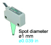 Pinpoint type with green LED beam [SH-82G]