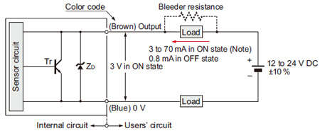 compact low price inductive proximity sensor gl i o circuit and gl 8u type i o circuit diagram