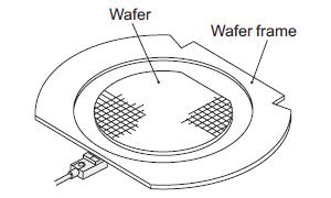 Detecting wafer frame