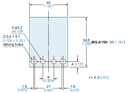 Micro Size Inductive Proximity Sensor Gxl Dimensions