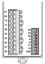SF-C11 Terminal düzenleme şeması
