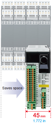 Easy to monitor status with a generalpurpose PLC