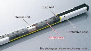 Koruyucu yapı IP67, dikişleri azaltılmış dikişsiz bir yapı ile elde edilir