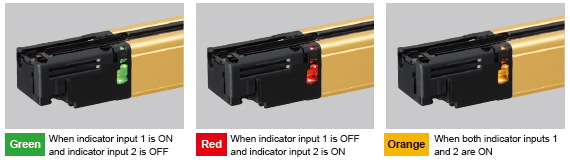 Application indicator mode