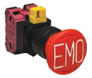 The product line includes a SEMI emergency off<br> (EMO) switch.