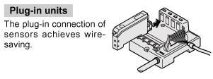 Simple sensor connections
