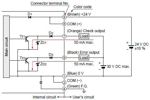 i/o circuit diagram