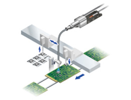 Pinpoint charge removal of electronic components