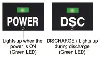 Discharge indicator
