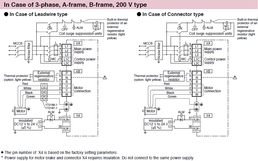 terminal blocks electrical wiring diagram minas a6 family wiring/ connection | automation controls ... terminal blocks electrical wiring diagram control