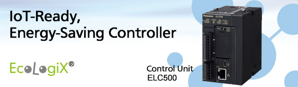 automation controls top page industrial devices panasoniciot ready, energy saving controller control unit elc500 to products page