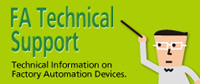 FA Technical Support - Technical Information on Factory Automation Devices.