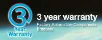 3 year warranty Automation Control Products