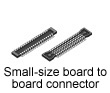 Small-size board to board connector