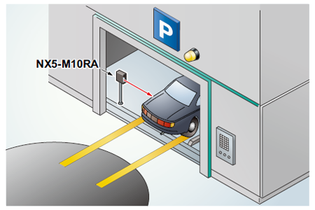 Verifying position of car at multistoried parking