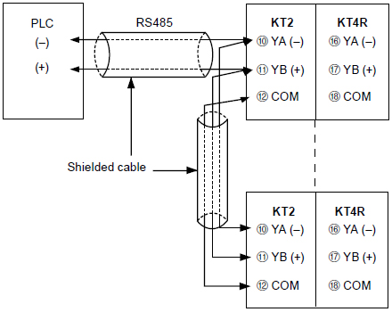 kt4r temperature controller wiring connection panasonic rh www3 panasonic biz Light Switch Wiring Diagram Simple Wiring Diagrams
