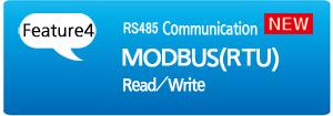 [Feature 4] RS485 Communication MODBUS (RTU) Read/Write