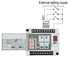External initialization