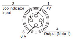 compact size picking sensor na1 pk3 i o circuit and wiring npn output type connector pin position pigtailed type