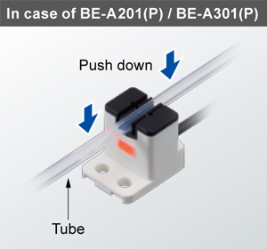 In the case of BE-A201(P) / BE-A301(P)