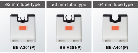 For small diameter tubes