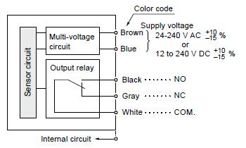 Compact Multi Voltage Photoelectric Sensor Nx5 I O Circuit
