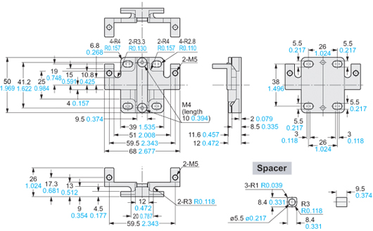 pic18 light curtain type 4 sf4b ver 2 dimensions automation controls Panasonic Car Stereo Wiring Diagram at nearapp.co