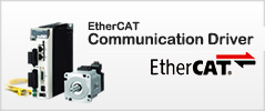 EtherCAT communication driver MINAS A5B Serie